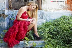-Unsort Блондинки, девушки, unsort, блондинки, violeta, ступеньки
