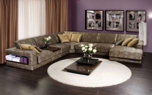 обои для рабочего стола 1920x1200 интерьер, мебель, диван