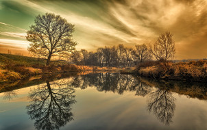 Польша Nowa Sol обои для рабочего стола 2030x1280 польша, nowa, sol, природа, реки, озера, река, осень, деревья, небо, отражение