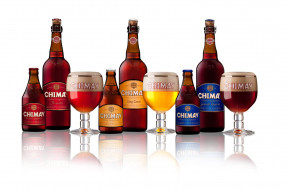 бренды, chimay, пиво, напиток