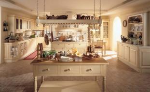 обои для рабочего стола 2000x1222 интерьер, кухня, стол, продукты, плита, посуда
