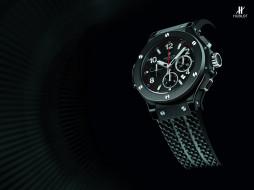 hublot, бренды, часы, ремень, черный, фон