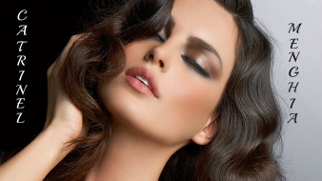Catrinel Menghia, девушки, , , макияж