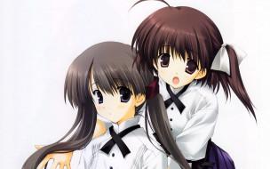 обои для рабочего стола 1920x1200 аниме, memories, off, девушки