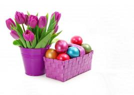 праздничные, пасха, цветы, яйца
