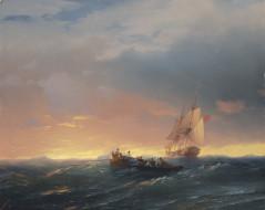 лодка, парусник