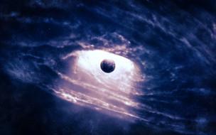 планета, черная дыра
