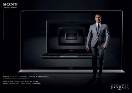 sony, бренды, daniel, craig, компьютер, ноутбук