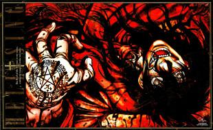 обои для рабочего стола 1920x1180 аниме, hellsing, alucard, vampire, вампир