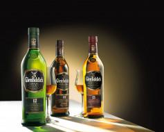 whisky, бренды, glenfiddich, бутылки, этикетки, бокалы, виски