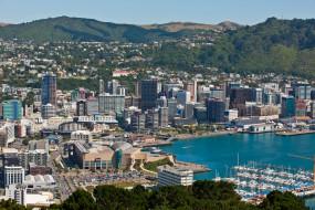города, веллингтон, новая, зеландия, столица