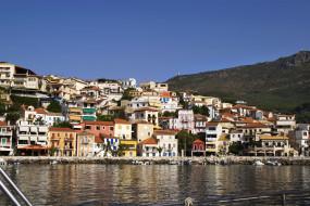 parga, греция, города, улицы, площади, набережные, дома, море, набережная