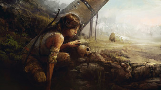 Tomb Raider 2013 обои для рабочего стола 5332x3000 tomb, raider, 2013, видео, игры, лара, крофт