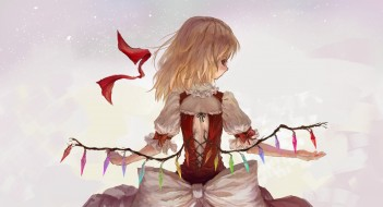 Аниме flandre scarlet, touhou