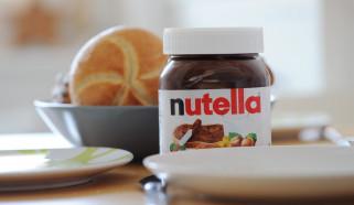 бренды, nutella, шоколадная, паста