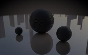 обои для рабочего стола 1920x1200 3д, графика, шары