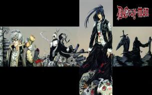 аниме, gray, man, kanda, exorcists, экзорцитсы, акума