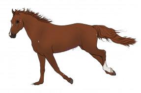 обои для рабочего стола 2299x1524 рисованные, животные, лошади, лошадь