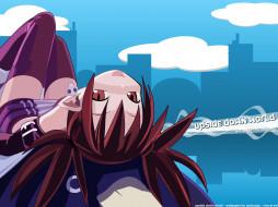 disgaea, аниме, netherworld, battle, chronicle, серёжка, девушка, череп