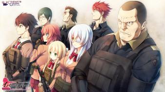 innocent, bullet, аниме, персонажи