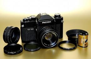 ricoh, slx, 500, бренды, другое, зеркальный, механический, пленочный, фотоаппарат
