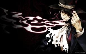 are, you, alice, аниме, дым, ногти, рука, шляпа