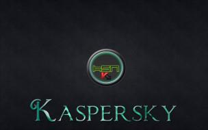 обои для рабочего стола 1920x1200 компьютеры, касперский, антивирус, логотип, фон