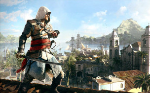 assassin`s, creed, iv, black, flag, �����, ����, �����