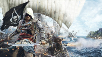 assassin`s, creed, iv, black, flag, �����, ����, ���������, �����, ����