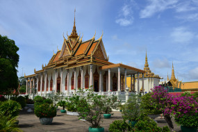silver pagoda phnom penh, города, - буддистские и другие храмы, пагода, храм