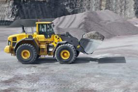Volvo L220G Wheel Loader обои для рабочего стола 2100x1400 volvo l220g wheel loader, техника, строительная техника, ковш, трактор, дорога