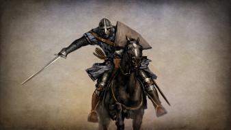 рисованные, армия, всадник, меч, конь, рыцарь, воин, амуниция, броня