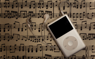 бренды, ipod, musical, notes, music