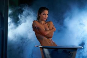 Ellen Hollman обои для рабочего стола 2560x1703 ellen hollman, девушки, ванна, пар, мокрая