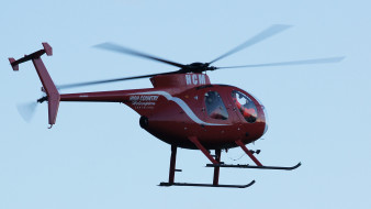 hughes 500 helicopter, авиация, вертолёты, легкий, малоразмерный, вертолет, скоростной