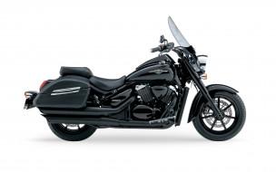 мотоциклы, suzuki, intruder, c1500t, 2013, темный