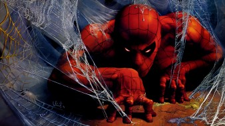 рисованные, комиксы, spider, man, человек, паук, паутина