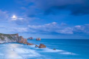 природа, побережье, вода