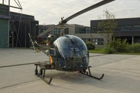 bell 47g-3b, авиация, вертолёты, двухместный, вертолет, легкий