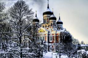 alexander nevsky cathedral,  tallinn,  estonia, ������, ������ , �������, ������, �������, tallinn, ����, alexander, nevsky, cathedral, ������, estonia, ����������-�������, �����