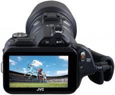jvc gc-px100b, бренды, jvc, фотокамера, цифровая, дисплей