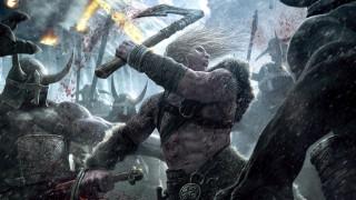 Viking: Battle for Asgard  обои для рабочего стола 1920x1080 viking,  battle for asgard, видео игры, битва, воин, меч, топор, кровь, враги