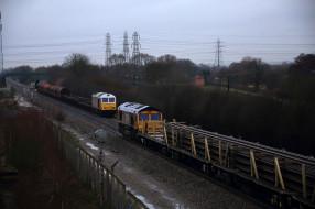 обои для рабочего стола 2048x1365 техника, поезда, локомотив, рельсы