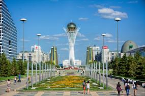 города, астана , казахстан, столица, азия