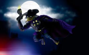 Черный Плащ обои для рабочего стола 1920x1200 Черный плащ, мультфильмы, darkwing duck, Черный, плащ, darkwing, duck
