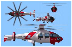 авиация, 3д, рисованые, v-graphic, вертолет, фон