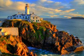 природа, маяки, океан, побережьье, маяк