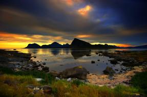 обои для рабочего стола 2048x1360 природа, побережье, море, скалы, спокойствие, лето