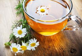 еда, напитки,  Чай, фон, tea, flowers, цветы, кружка, чашка, ромашка, чай, настроения