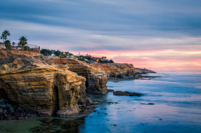природа, побережье, сан-диего